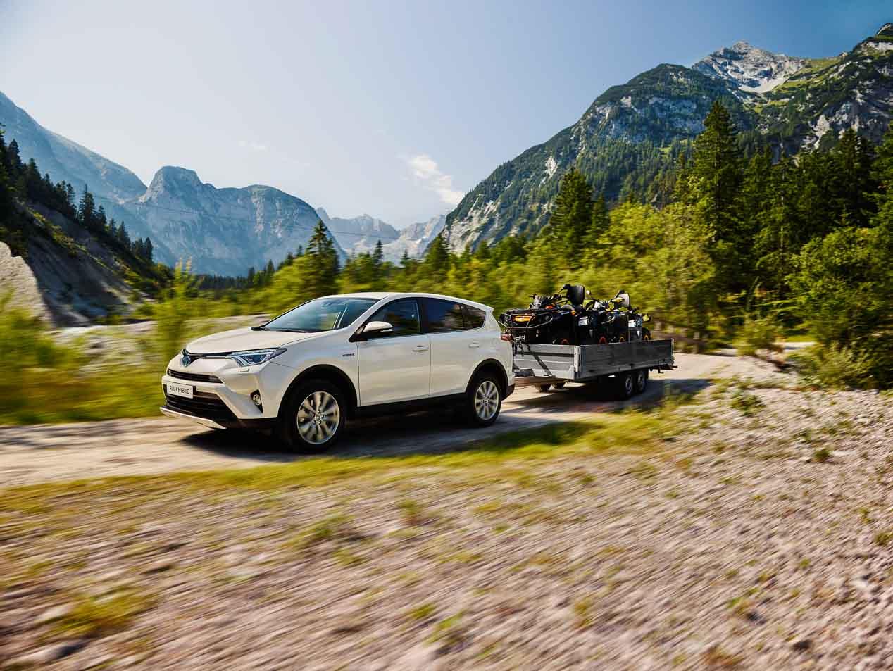 Así es el Toyota RAV4 hybrid AWD