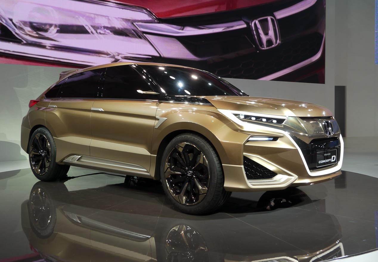 ... el Honda HR-V y el Honda CR-V. El nombre elegido es el Honda UR-V
