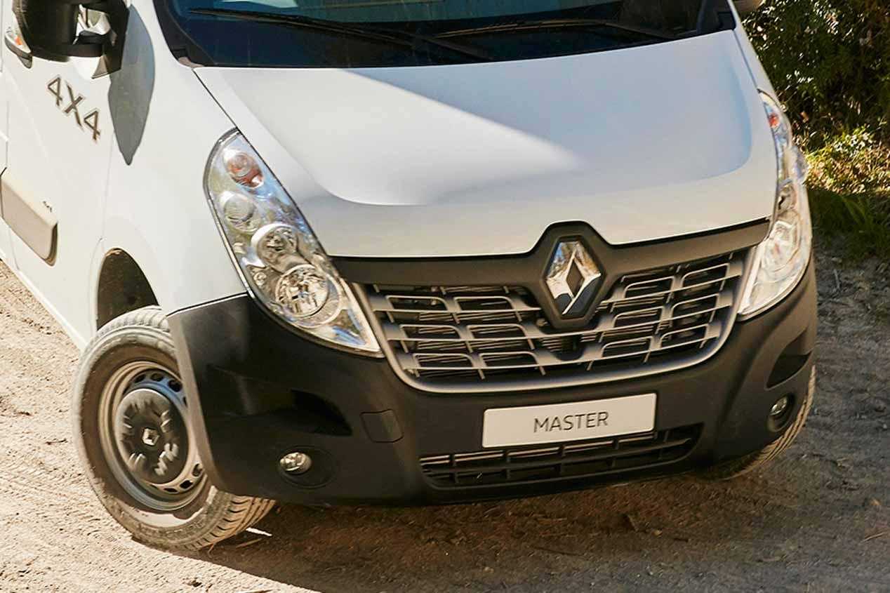 Renault Master 4x4, en imágenes