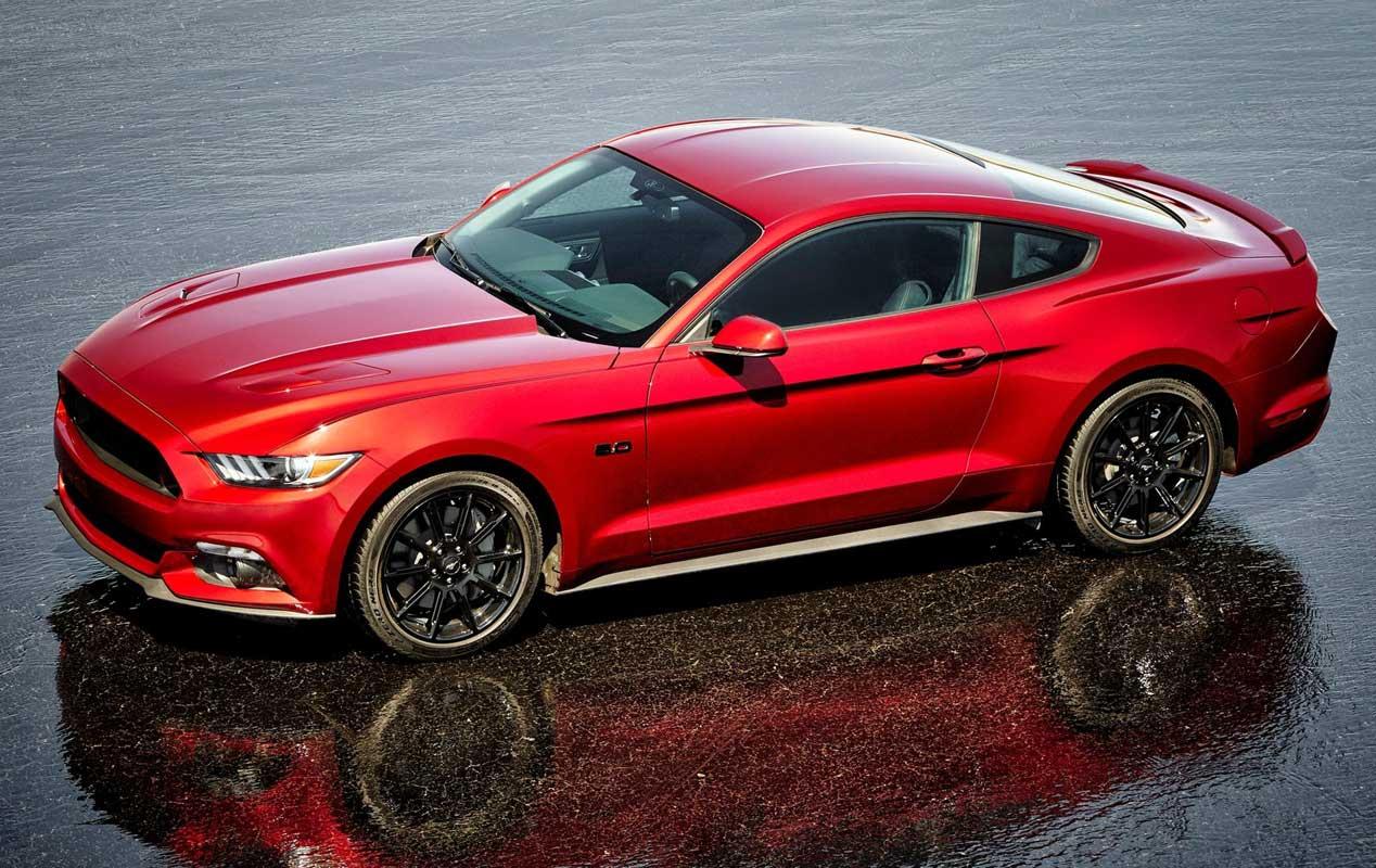 El Ford Mustang, rey de ventas en 2015