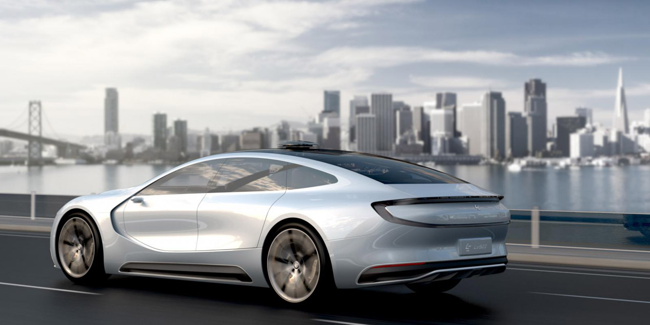 Leeco LeSEE, un rival chino para el Tesla Model S