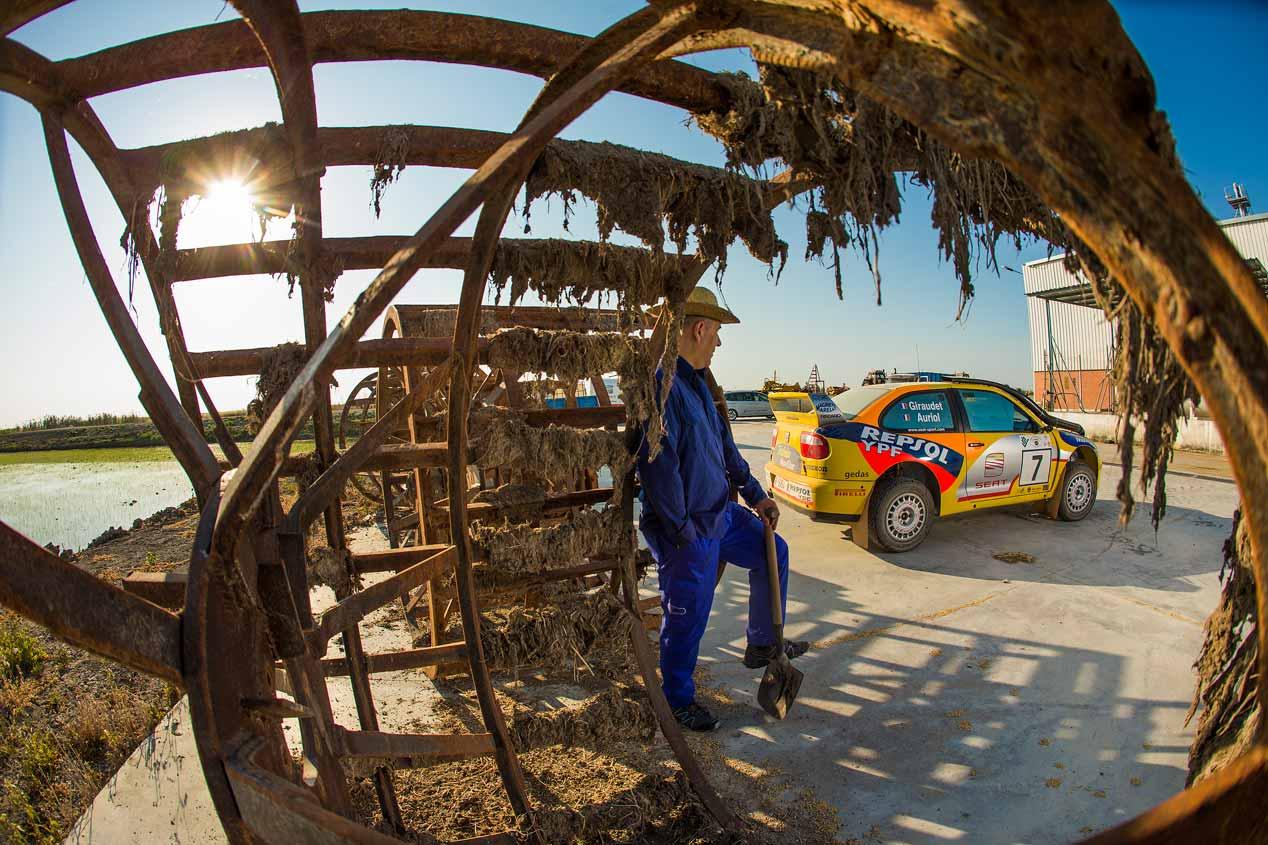 Seat Córdoba WRC Safari, a prueba