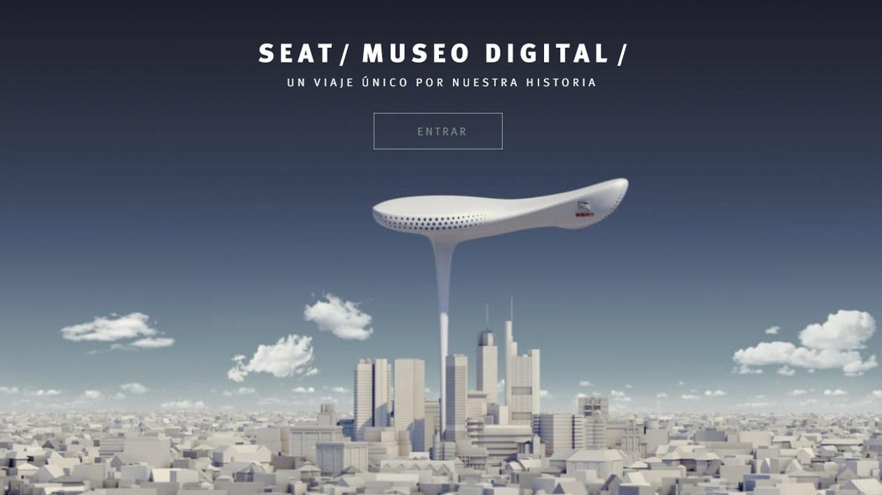 Así es el Museo Digital de Seat en Internet