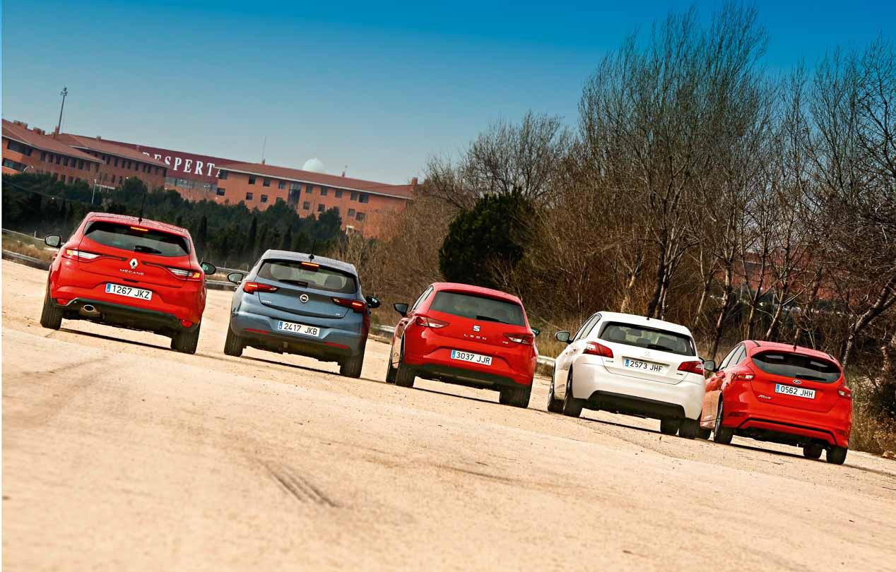 El Renault Mégane y sus rivales