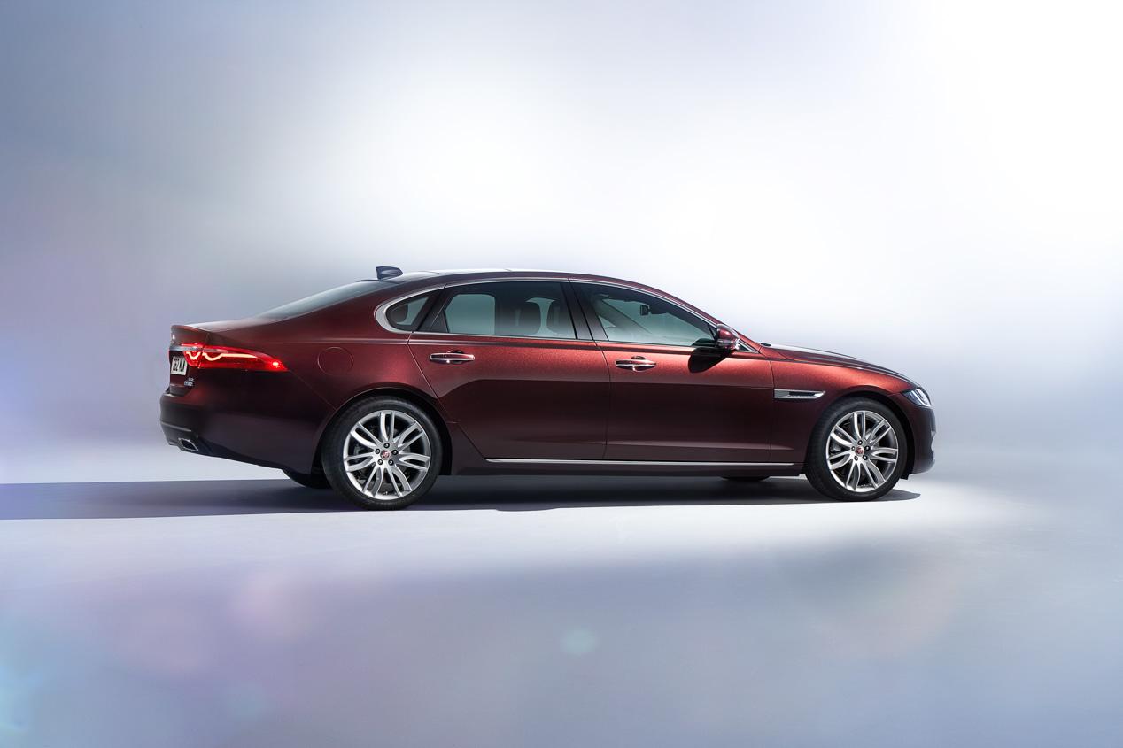 Nuevo Jaguar XFL, el XF de batalla larga