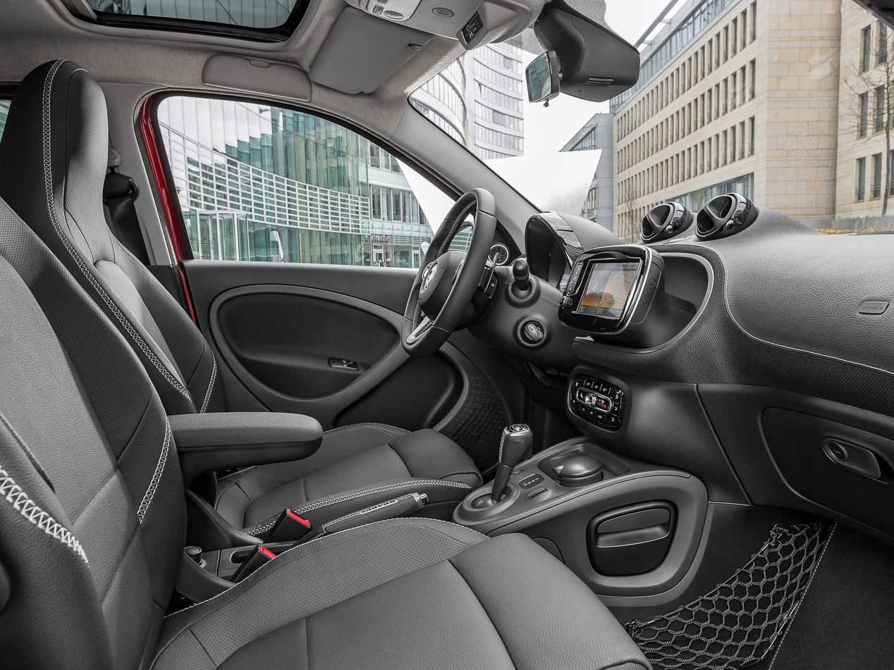 Smart Brabus Fortwo, Forfour y Cabrio