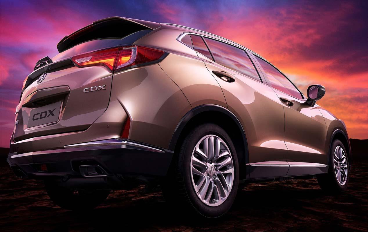 Acura CDX, un nuevo SUV para el mercado chino