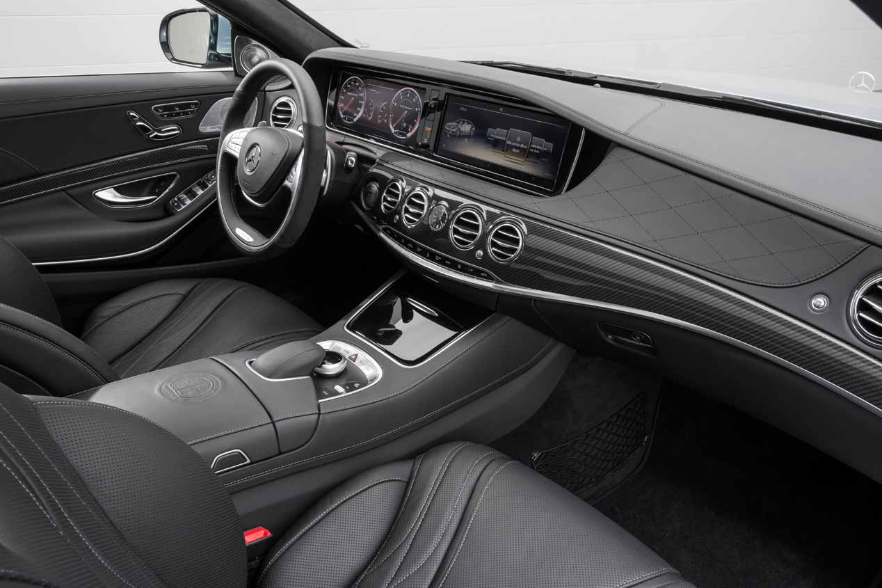 Prueba del Mercedes-AMG S 63 Largo