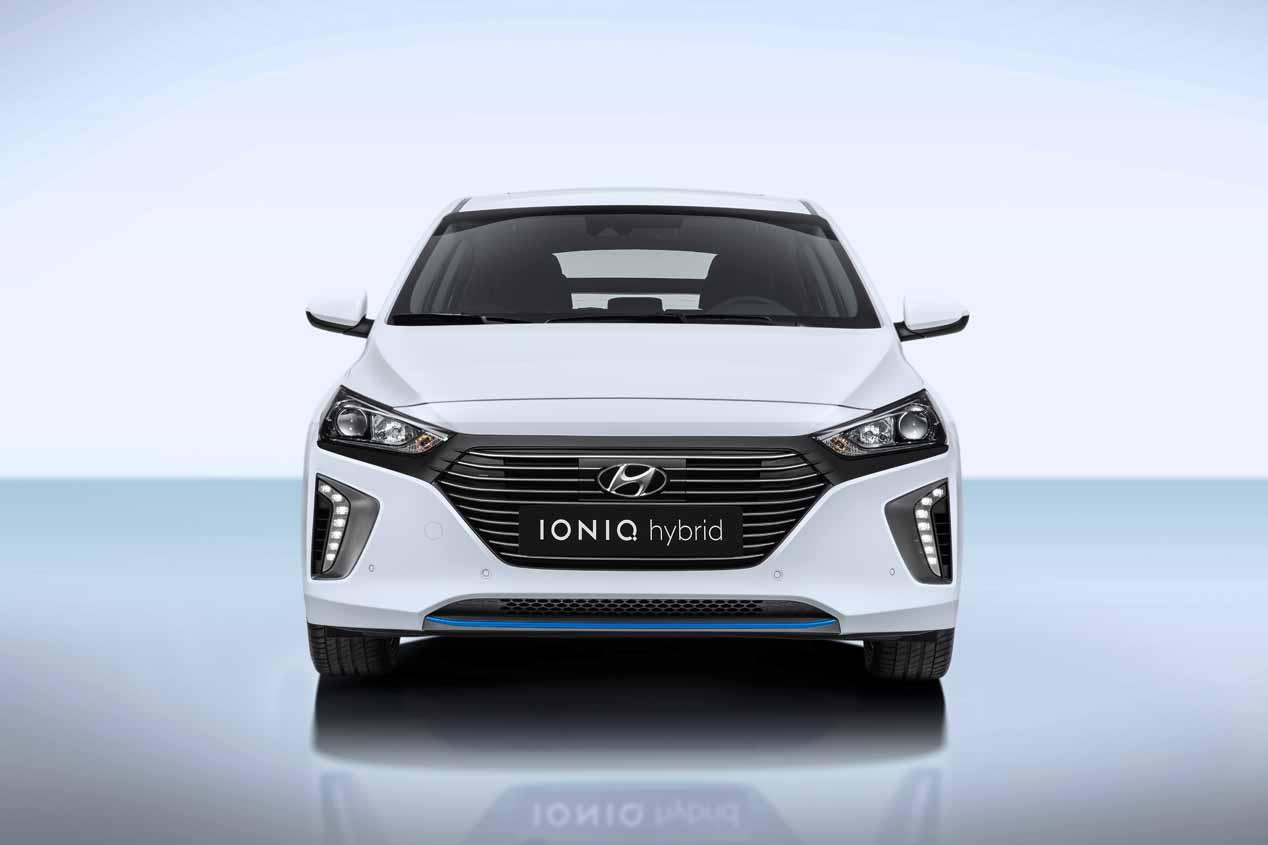 Prueba del nuevo Hyundai Ioniq Hybrid en imágenes