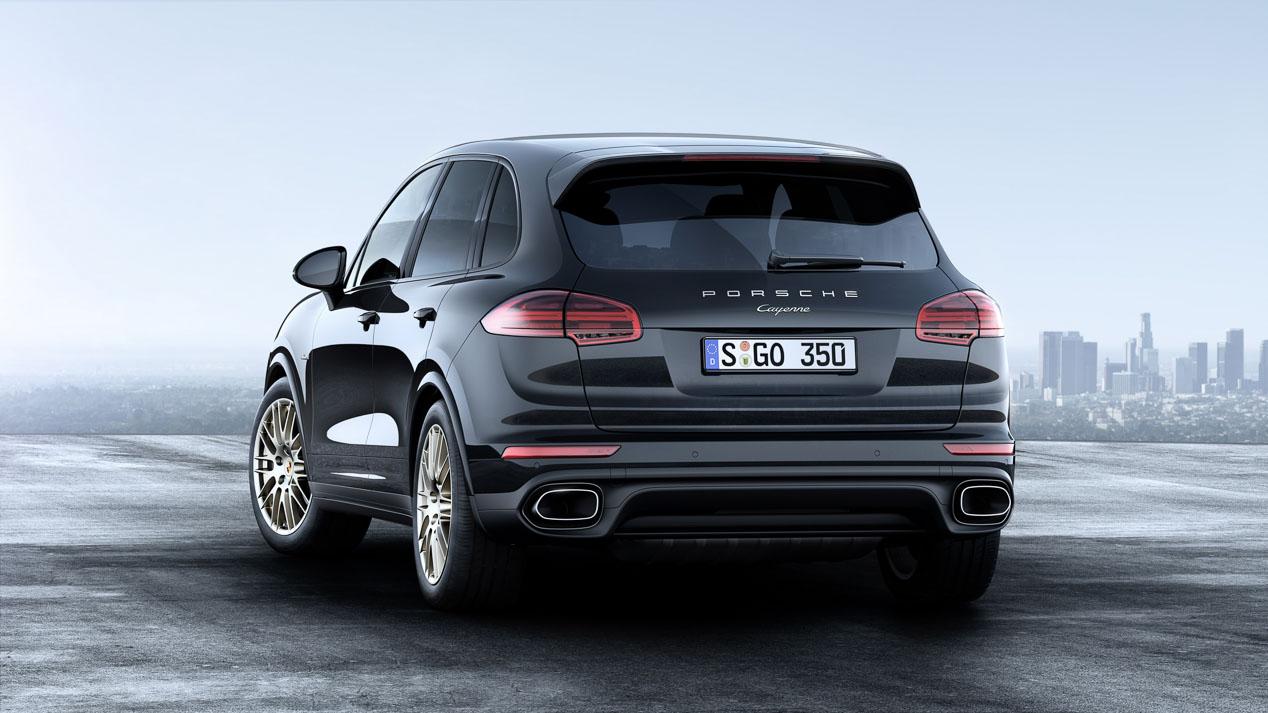 Porsche Cayenne Platinum Edition, SUV potente y exclusivo