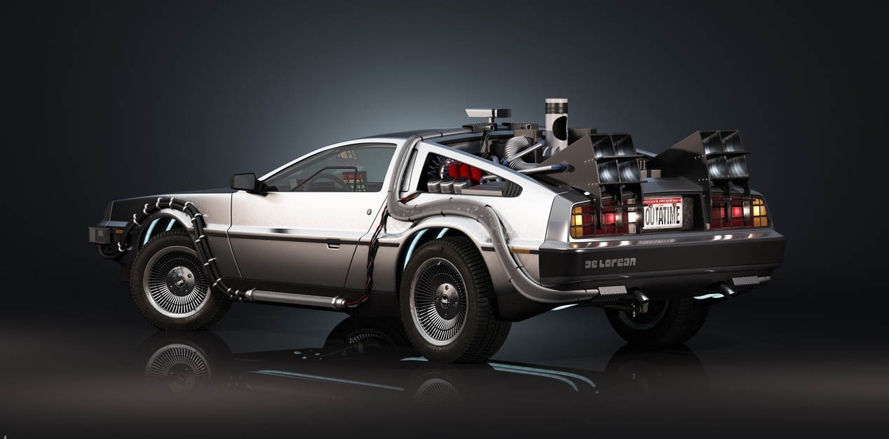 DeLorean de Regreso al Futuro