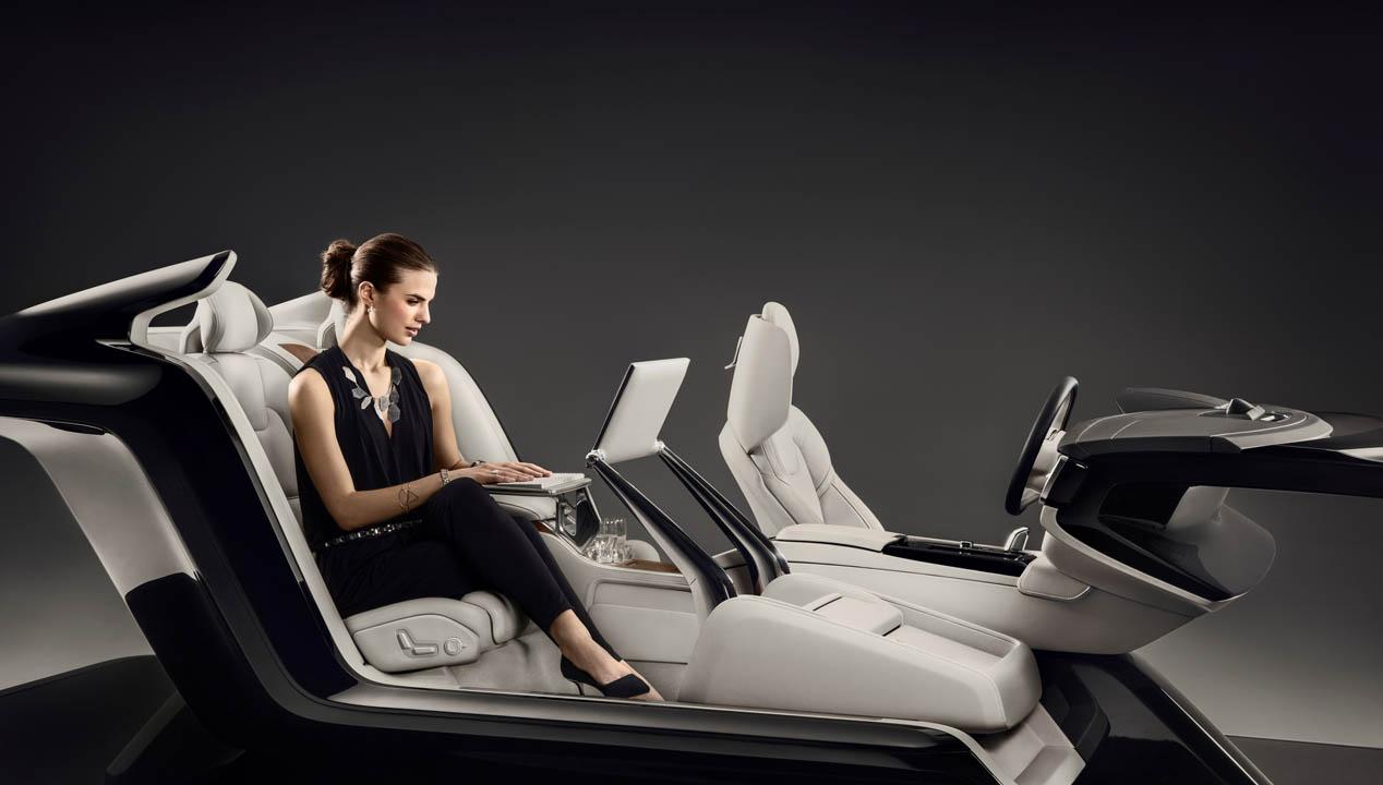 Lounge Console Concept en el Volvo S90 Excellence