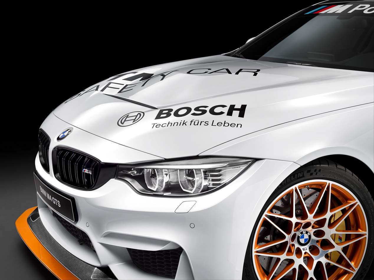 BMW M4 GTS DTM Safety Car, el Safety del DTM