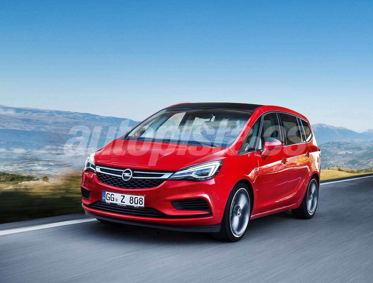 Opel Zafira Suv 2018 >> Futuros modelos Opel: SUV y berlinas | Autopista.es