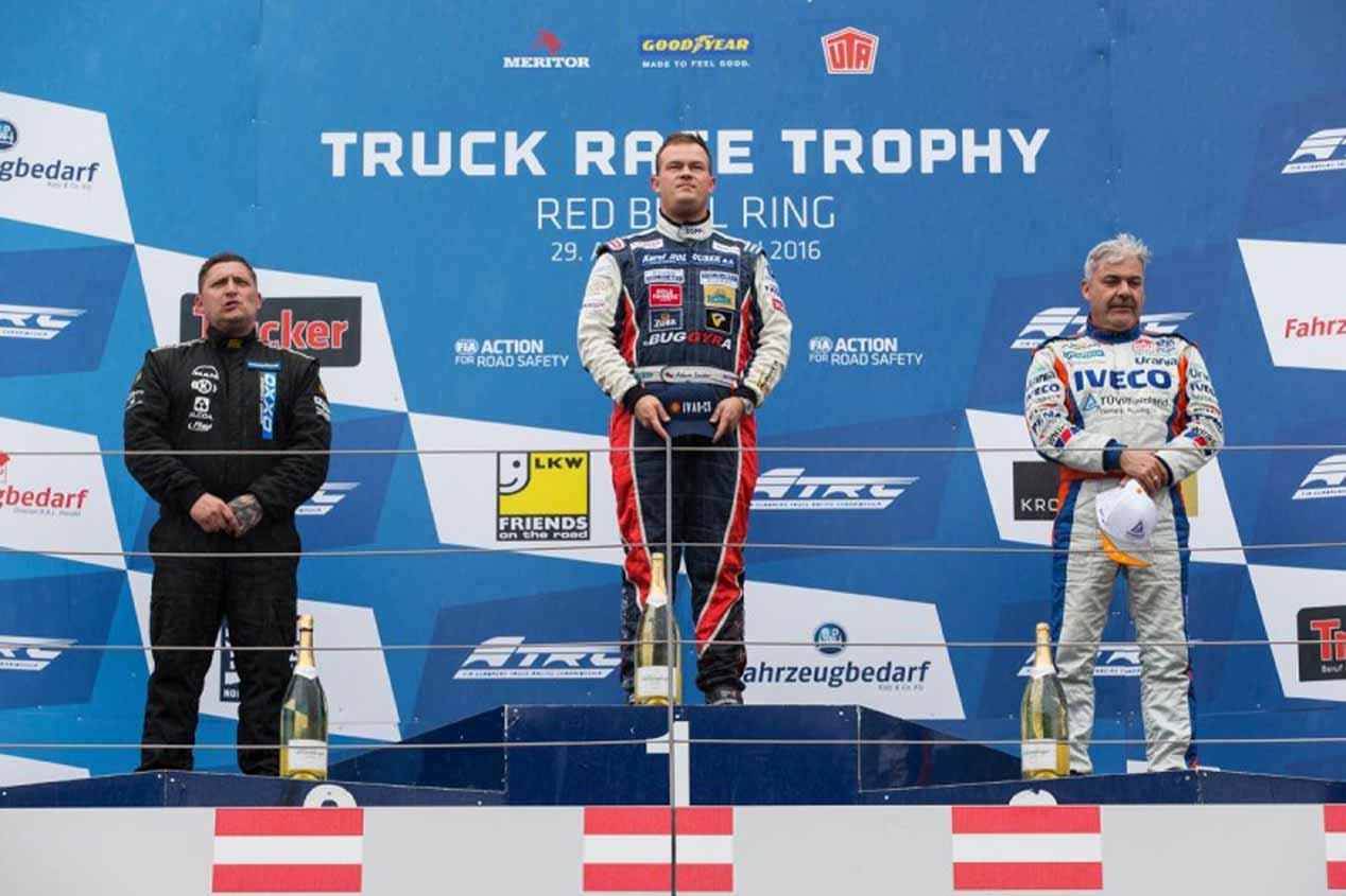 Campeonato de Europa de Camiones 2016. GP de Austria