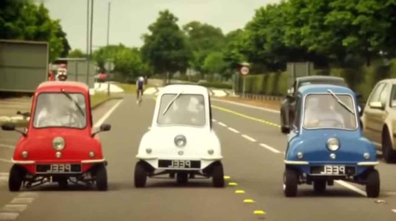 Los diez coches más raros que podrías imaginarte