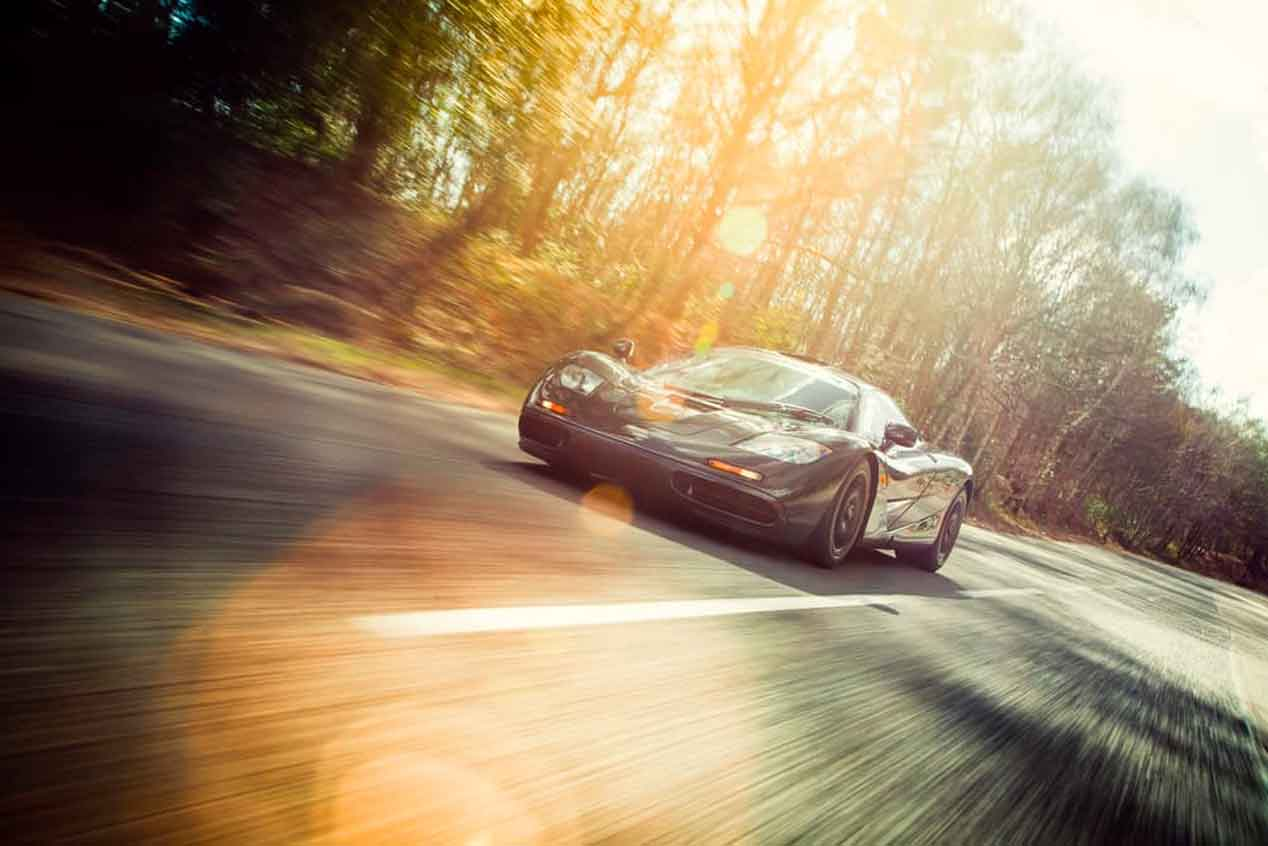 Un McLaren F1, a subasta