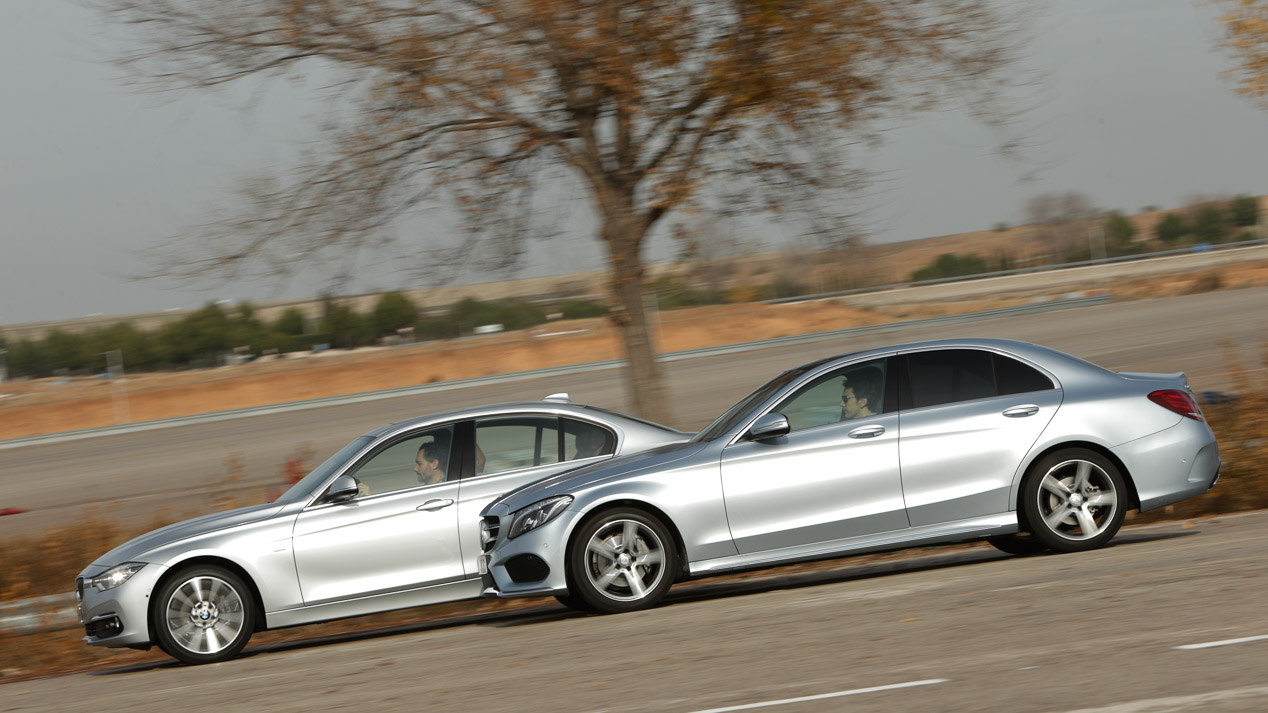 BMW 320d vs Mercedes C 220 d