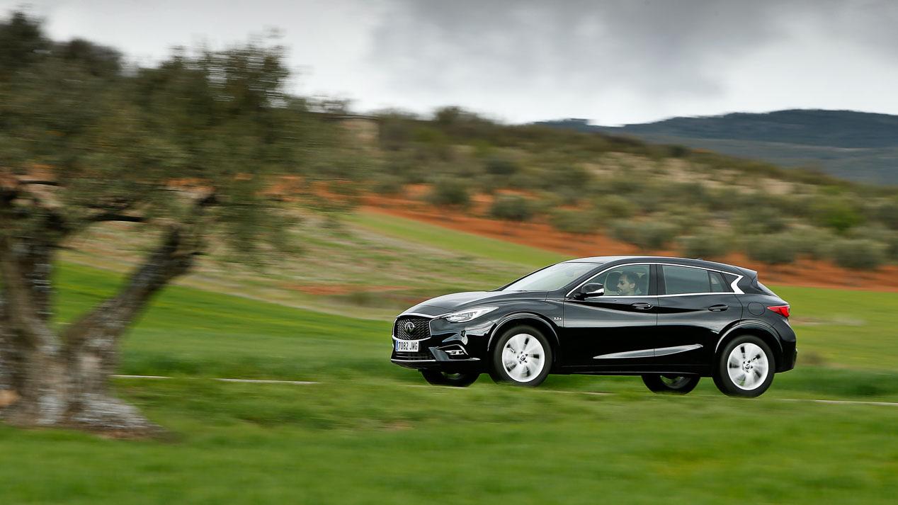 Infiniti Q30 2.2d AWD, un SUV inspirado en el Mercedes GLA