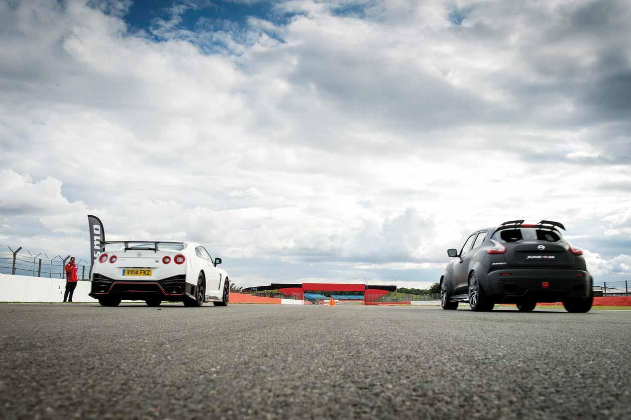 Nissan GT-R Nismo y Nissan Juke R 2.0