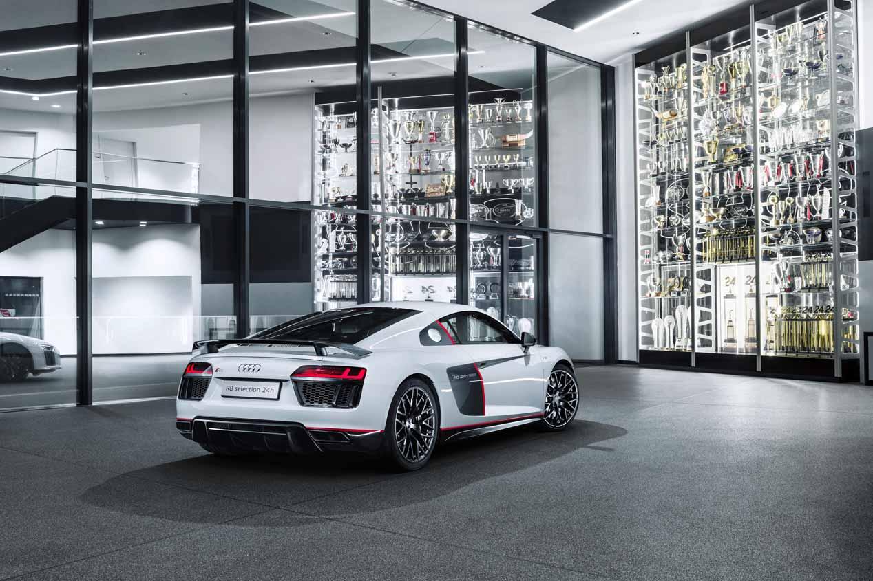 Audi R8 Coupé V10 plus selection 24h, sus mejores imágenes