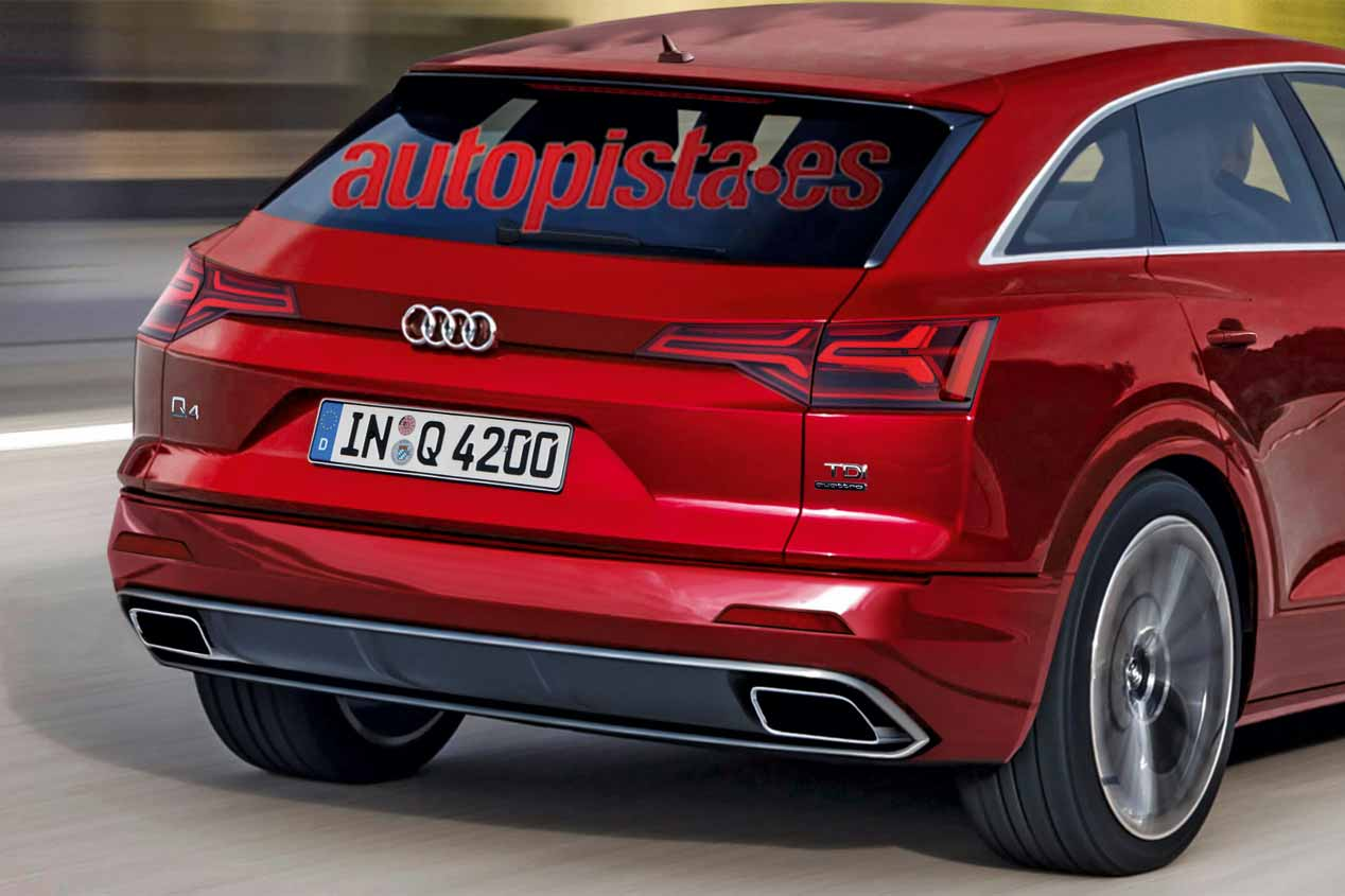 Galer 237 A Audi Q4 2019 Coupe Imagenes Autopista
