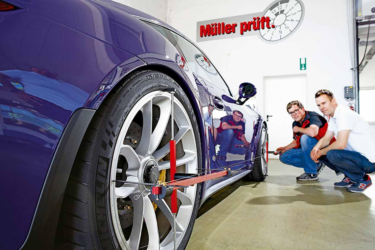 Porsche 911 GT3 RS, imágenes de nuestra prueba