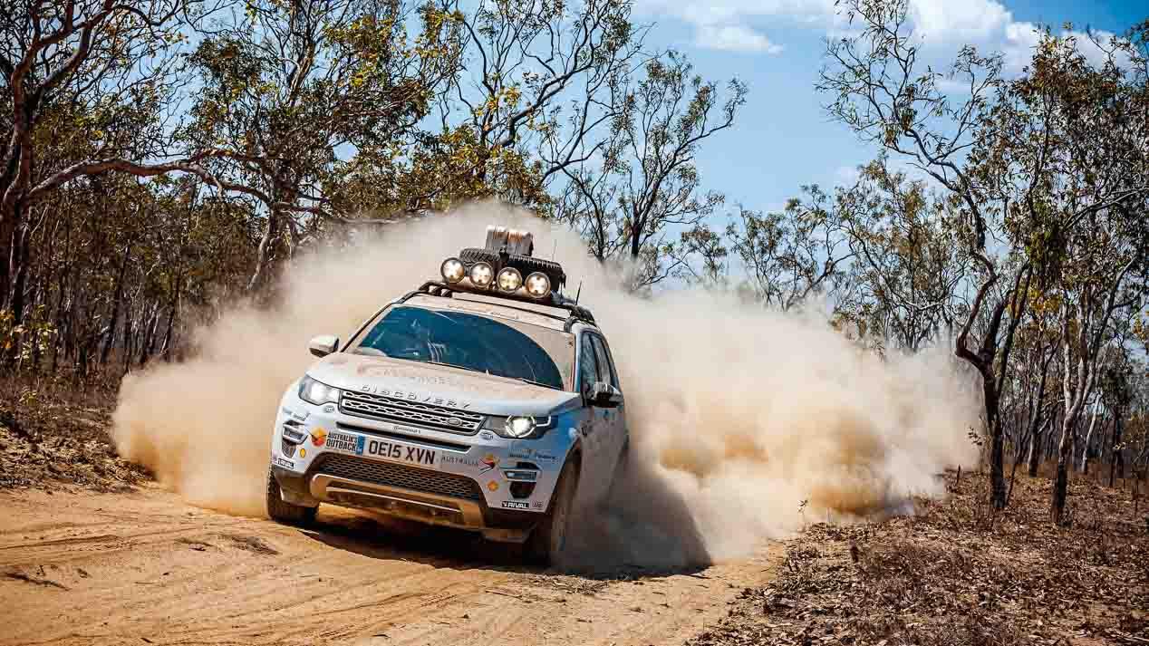 Viajamos por Australia con un Land Rover