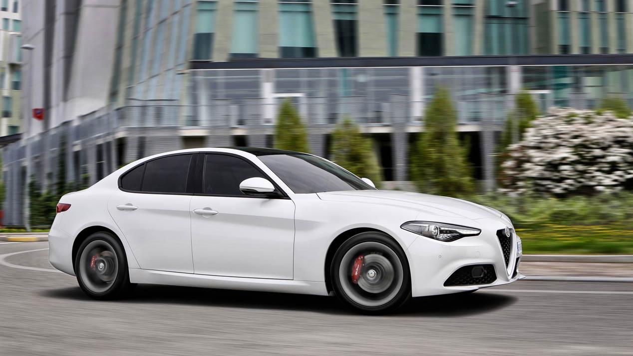 Alfa Romeo Giulia, imágenes de nuestra primera prueba