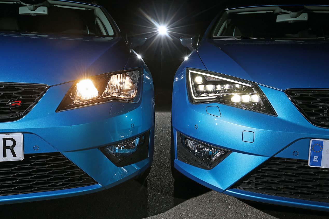 Sistemas de iluminaci n en el coche hal genos led o - Como pulir faros de coche ...