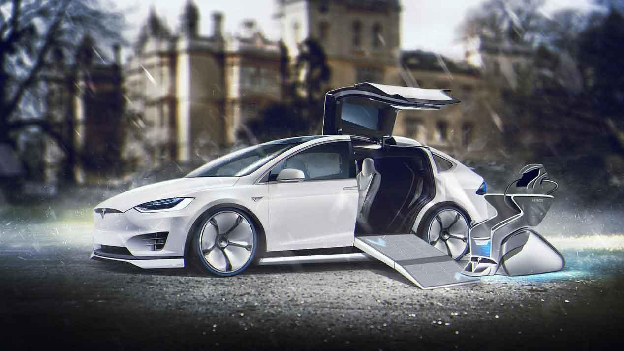 Los coches de los X-Men