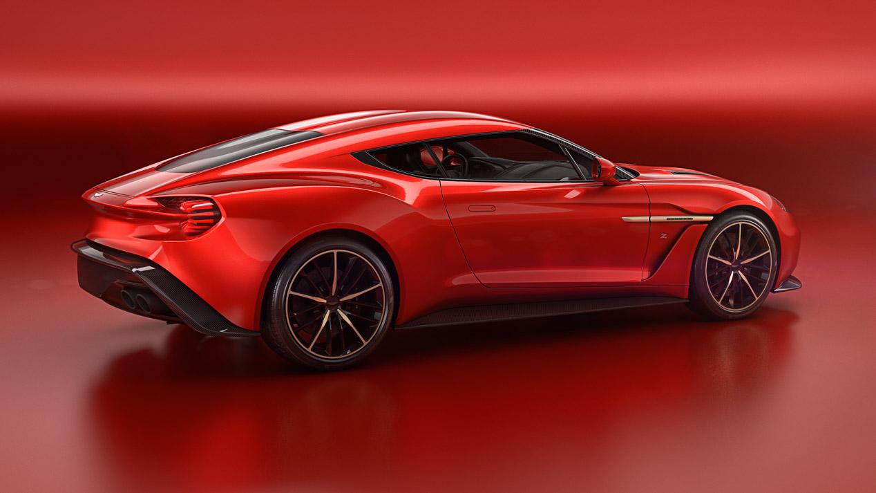 Aston Martin Vanquish Zagato Concept: deportividad y elegancia