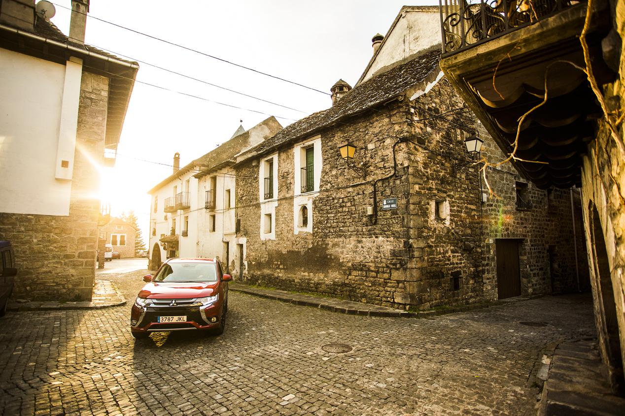 Mitsubishi Outlander híbrido enchufable, imágenes de nuestra prueba