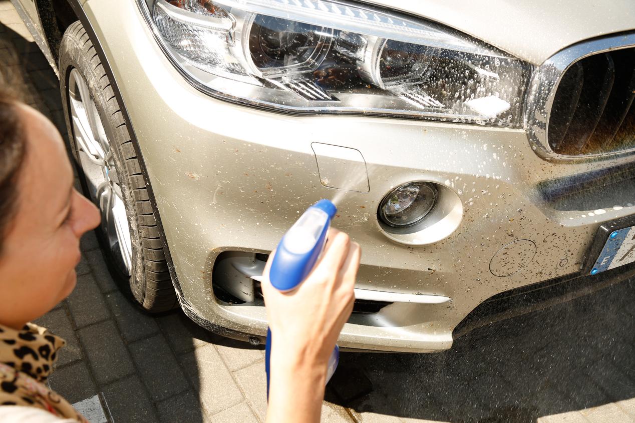 Cómo quitar en el coche manchas de resina, alquitrán y mosquitos