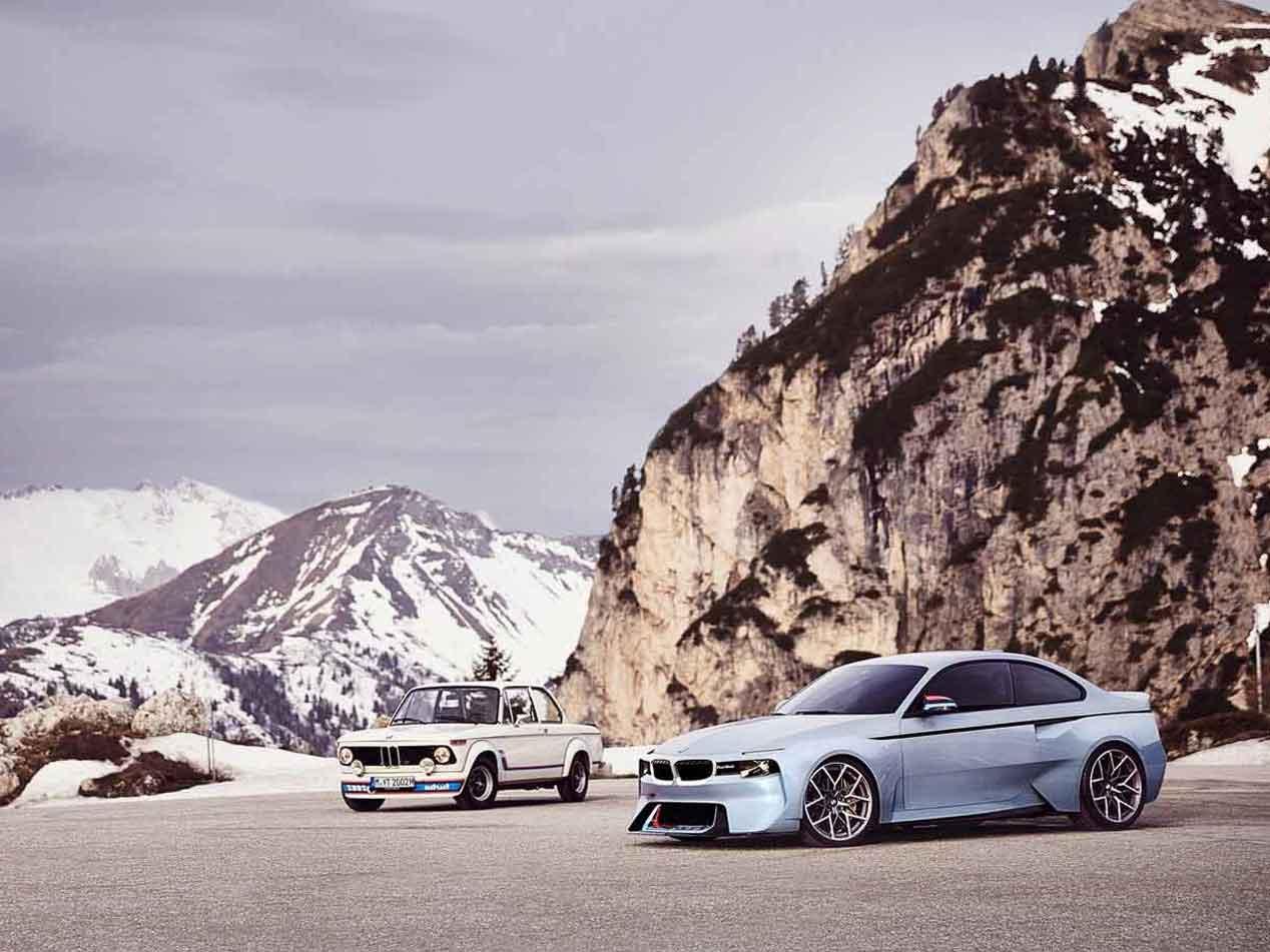 BMW 2002 Hommage: homenaje a las viejas glorias