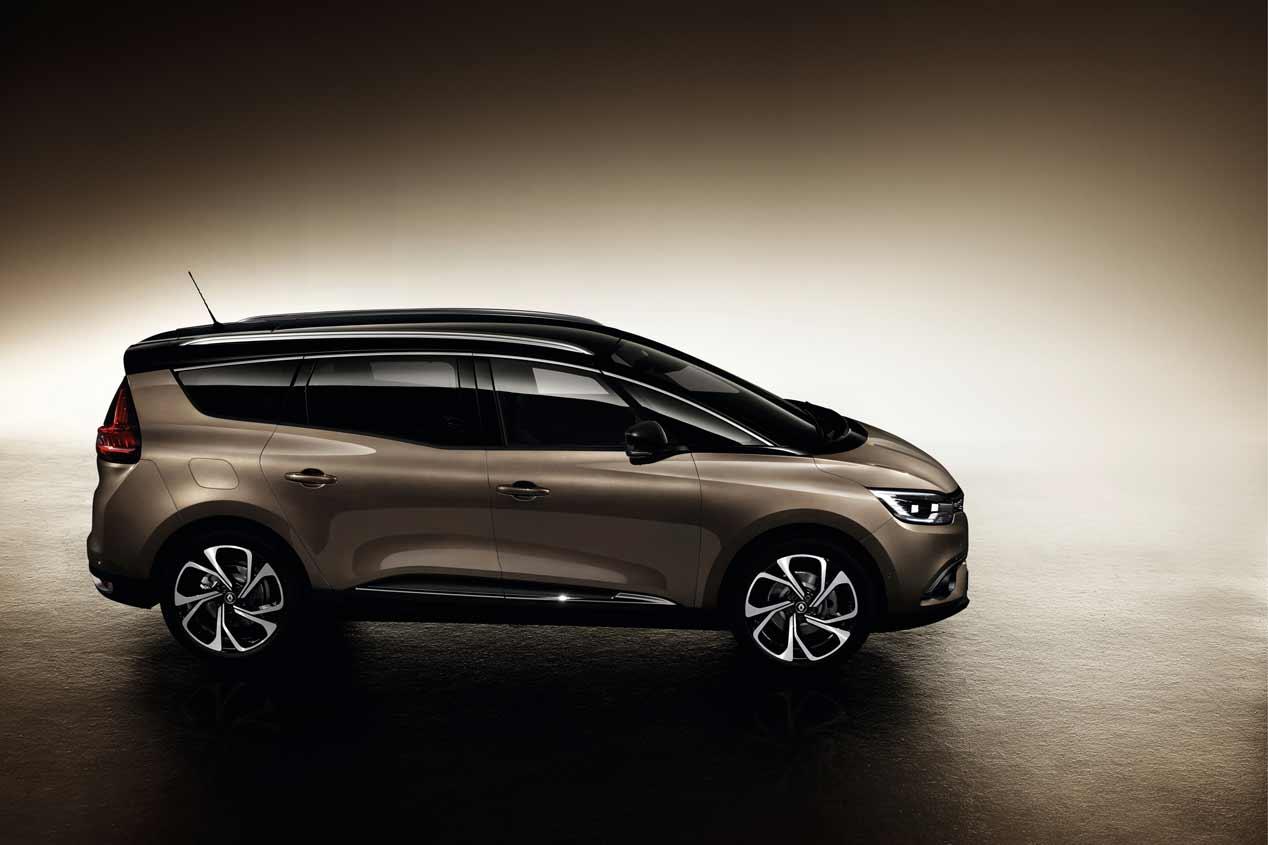 Nuevo Renault Grand Scénic 2016, sus imágenes