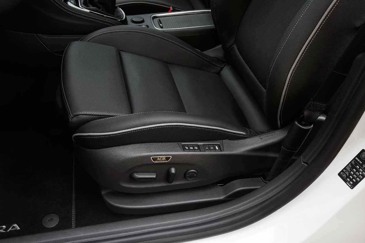 Los asientos del Opel Astra cuidan de tu espalda