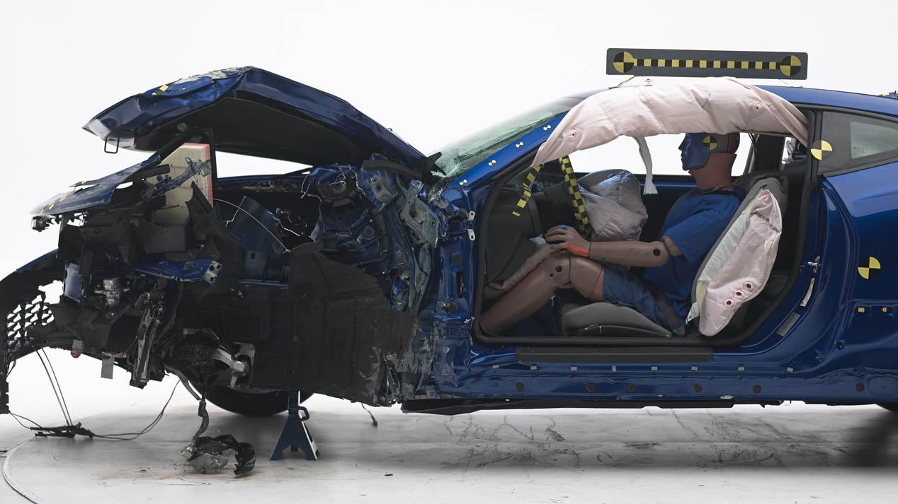 Pruebas de choque: coches americanos que deben mejorar su seguridad
