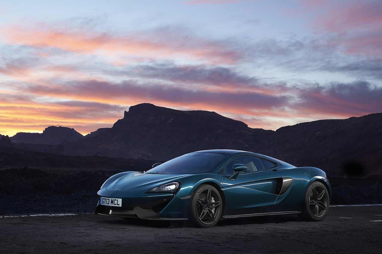 McLaren 570GT: las fotos más espectaculares del deportivo británico