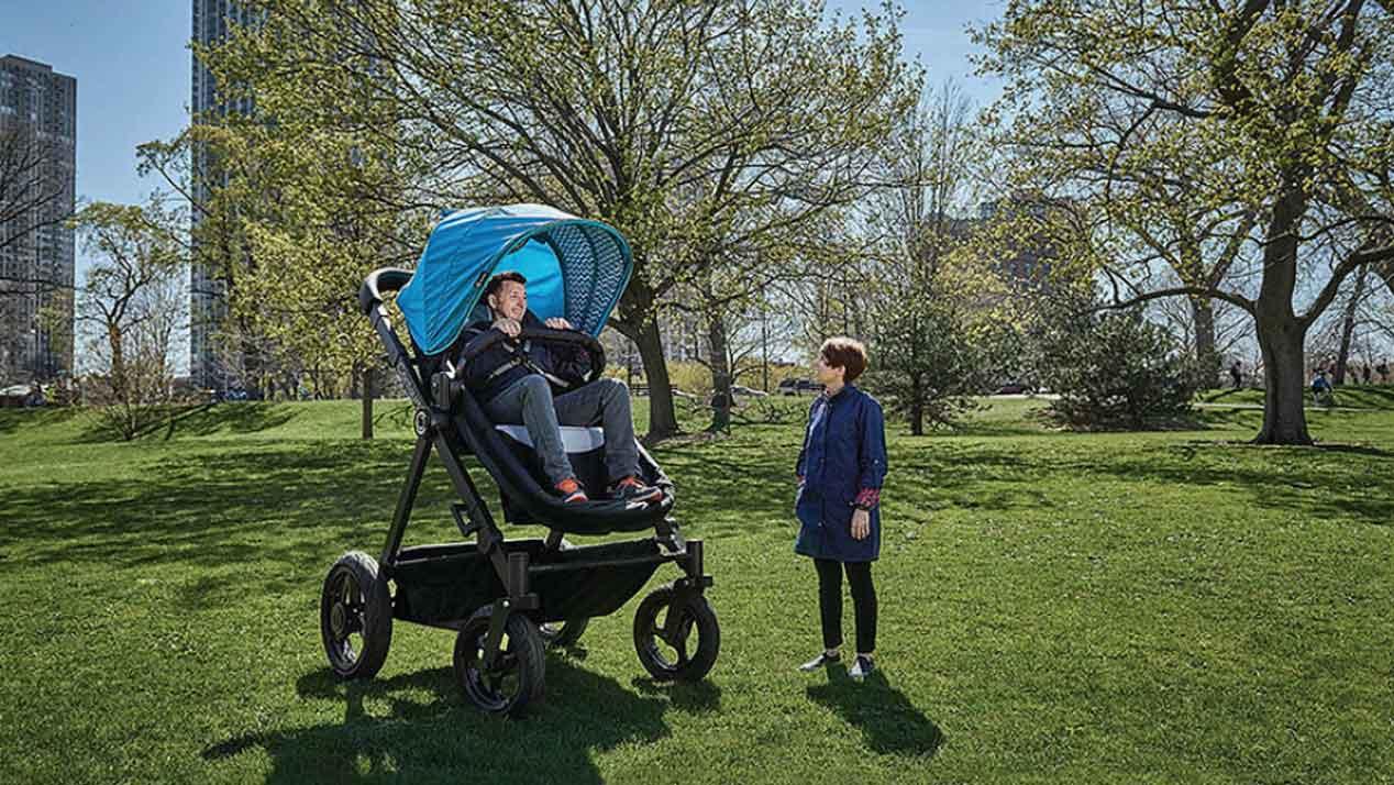 El carrito de bebé para adultos: el sumum del confort