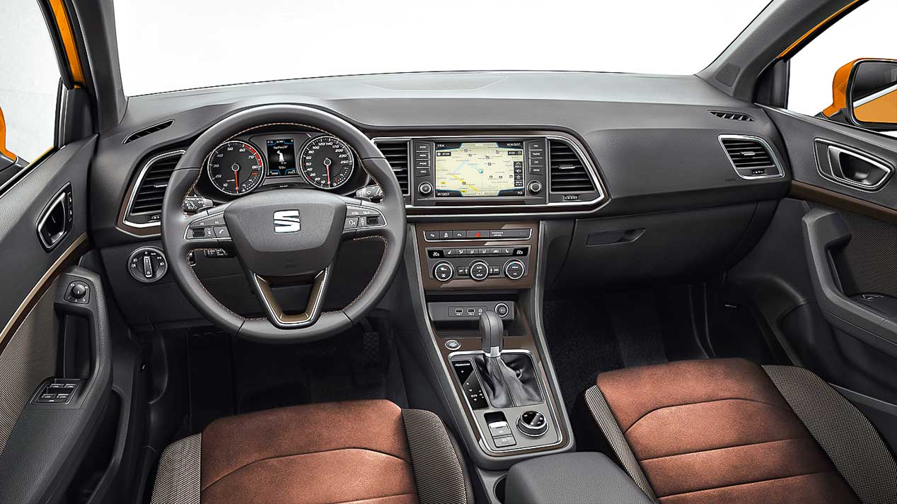Seat Ateca, Skoda Kodiaq y VW Tiguan cara a cara