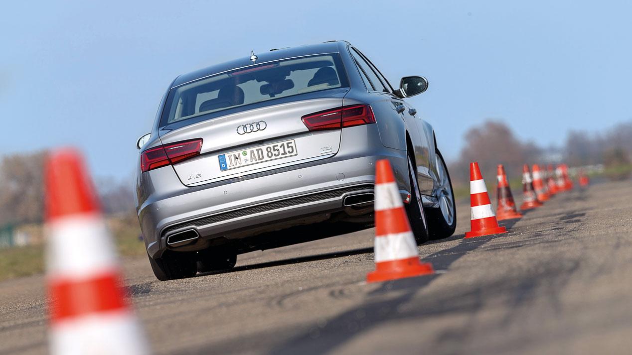 Enfrentamos el Mercedes Clase E contra el Audi A6 y el Jaguar XF