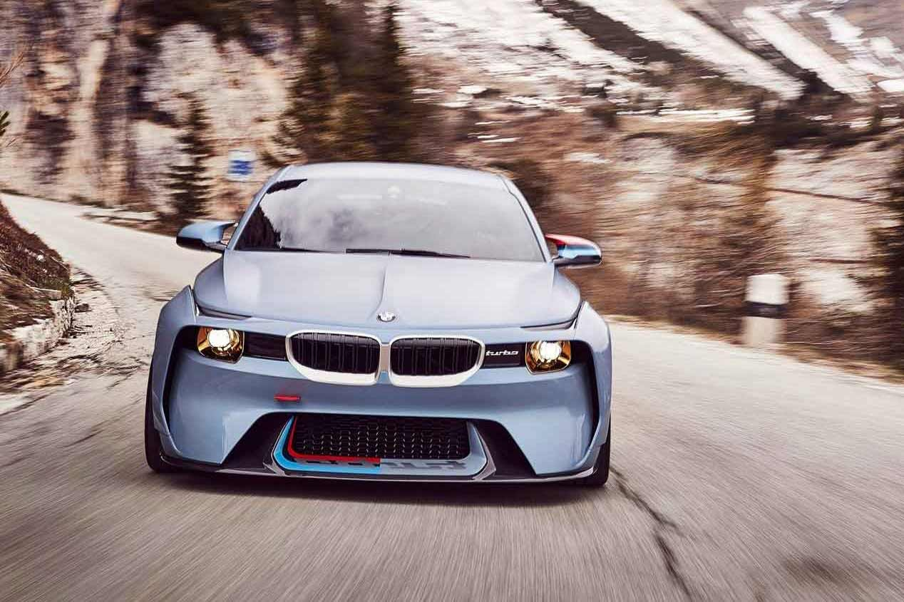 BMW 2002 Turbo frente a 2002 Hommage Concept