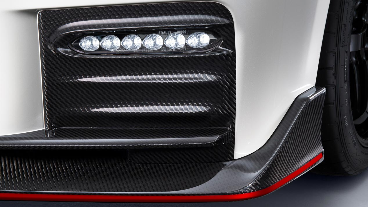 Nissan GT-R Nismo, retocado para 2017