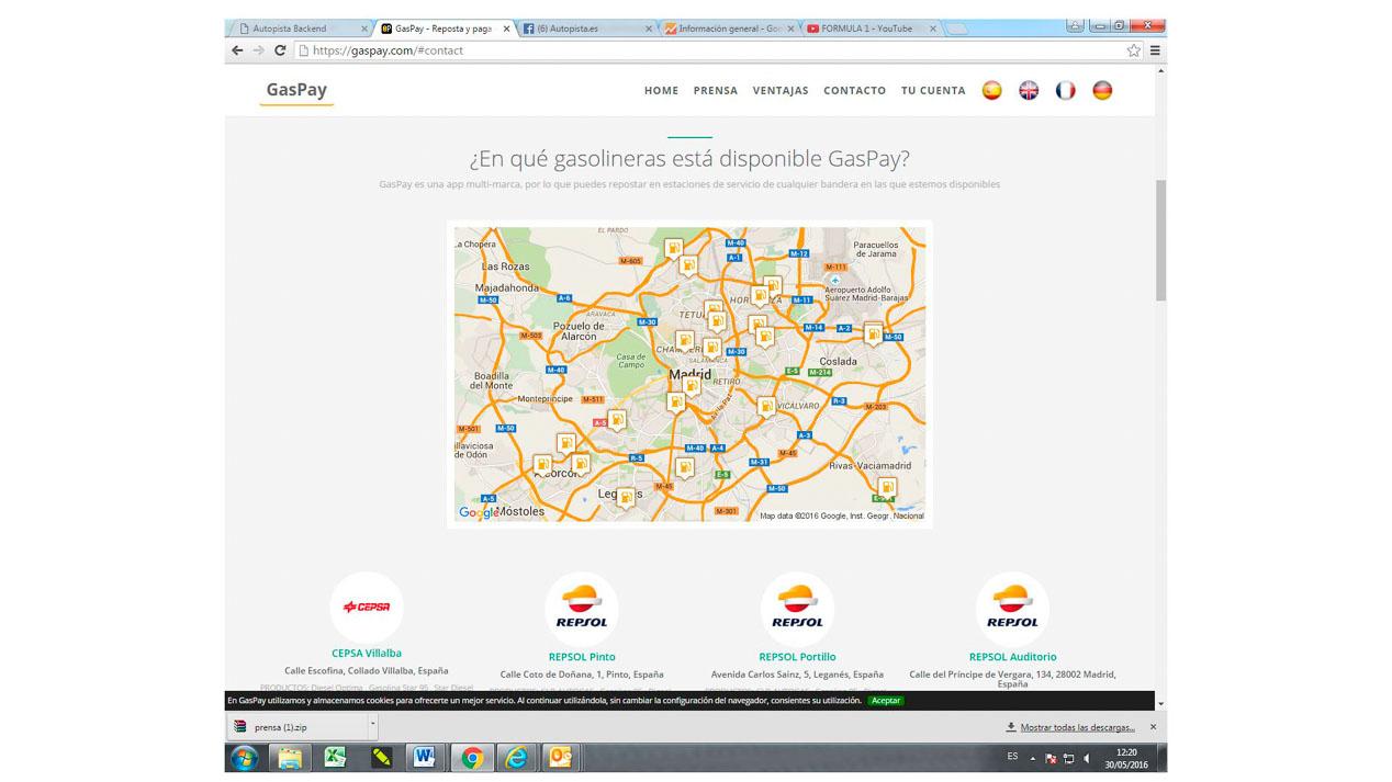GasPay: ya puedes pagar la gasolina desde el móvil