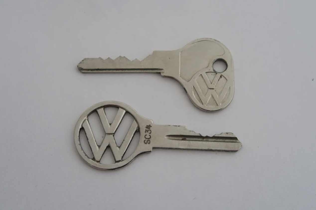 El diseño de las llaves de los coches a lo largo de la historia