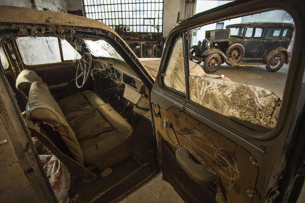 El santuario de los coches olvidados d a del sur noticias - Muebles ingleses antiguos ...