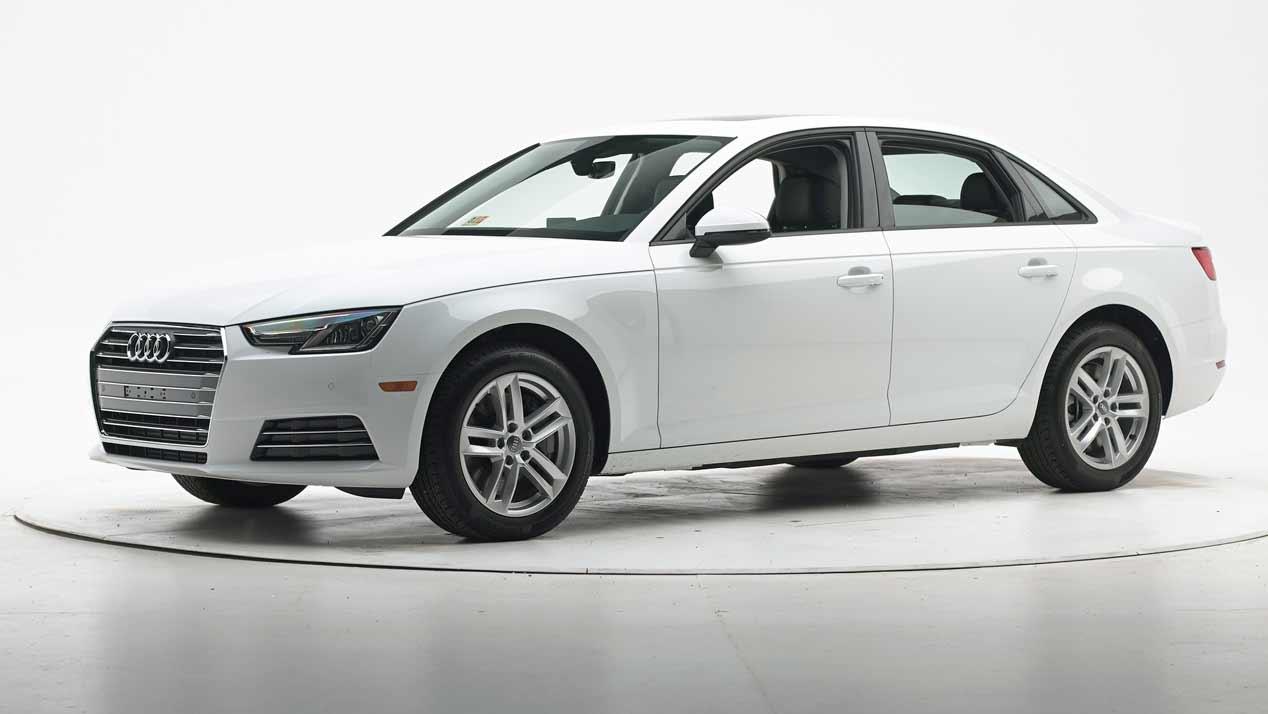 Audi A4 2016: buena nota en los tests de seguridad IIHS de EE.UU.