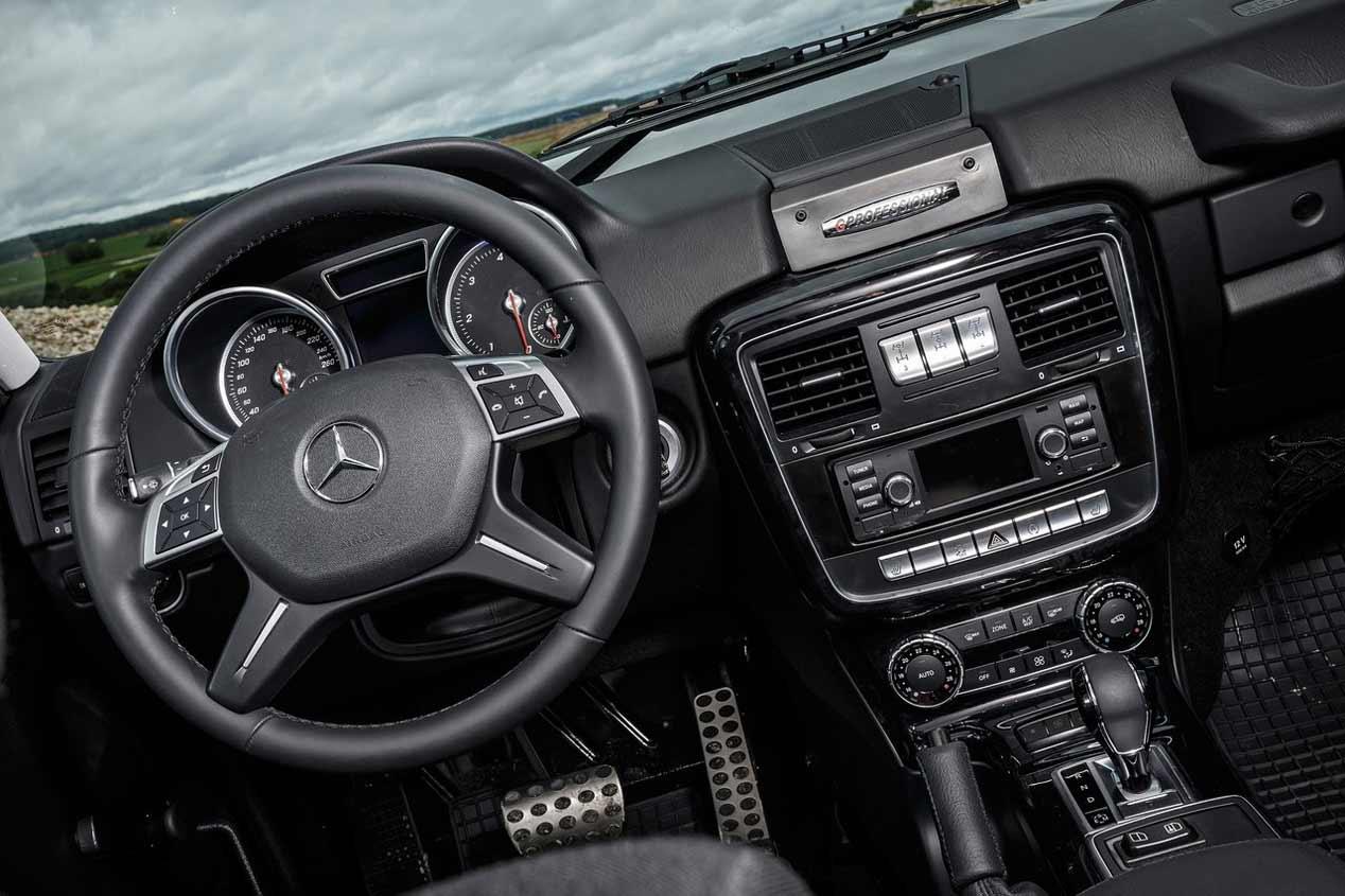 Mercedes G350d Profesional 2016, en imágenes