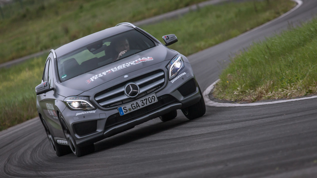 International Test Drive: VW Tiguan vs Audi Q3, BMW X1, Mercedes GLA